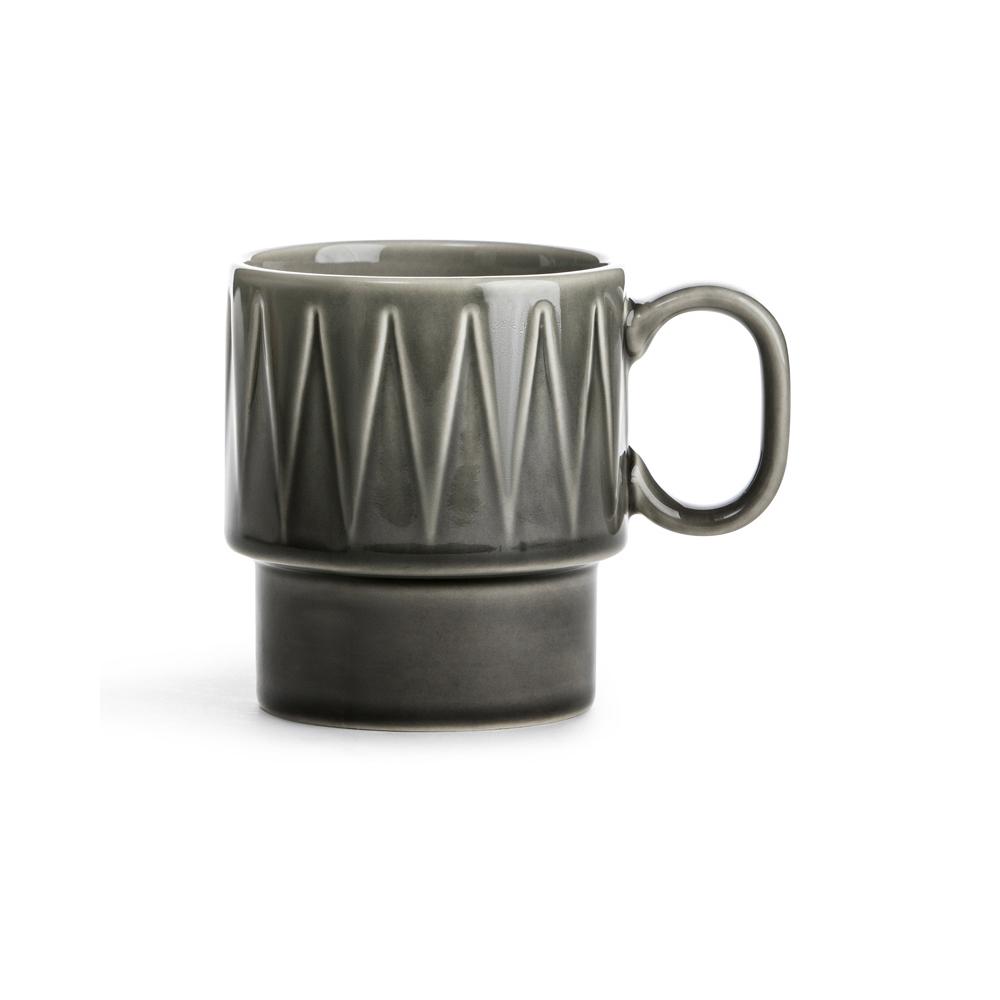 SAGAFORM tazza te grigio 25cl