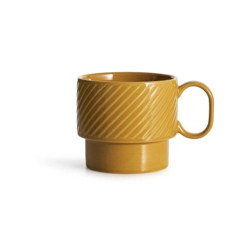 SAGAFORM tazza colazione coffee & more giallo